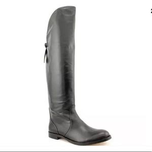 COACH Cheyenne black over the knee boots Sz 7